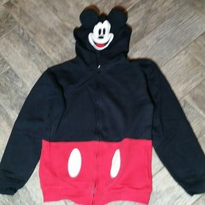 Adorable Mickey Mouse Disney Parks zip hoodie